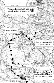 Autobahn Germany Map by Worcestershire Regiment 29th 36th Of Foot