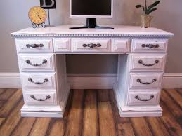 Desk Hutch Ideas Antique White Desk The Back Of The Cpu U2014 All Home Ideas And Decor