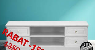 design hifi mã bel biała szafka rtv drewniana sosnowa parma 55 176 cm living room