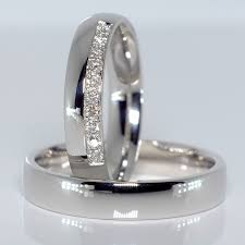 verighete din platina din aur sau platina cu diamante v080