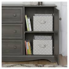 south shore savannah changing table with drawers gray maple savannah 3 drawer dresser with door gray maple south shore