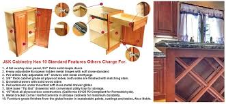 Kitchen Cabinet Features Wholesale Kitchen Cabinets In Standard Features