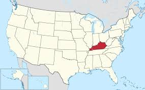 kentucky map kentucky maps and data myonlinemapscom ky state where is best of