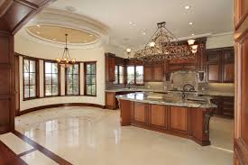 how to design a master kitchen that does not seem empty and