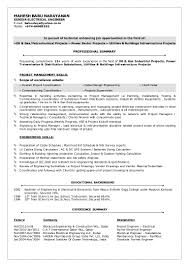 Resume Format Pdf For Electrical Engineer by Senior Electrical Engineer Resume Sample Resume For Your Job