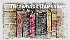 Throwback Thursday Meme - throwback thursday between the lines books n stuff