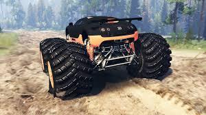 suzuki monster truck veyron ss monster truck for spin tires