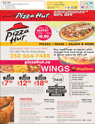 Pizza Hut Lunch Buffet Hours by Pizza Hut Menu Hours U0026 Prices 105 1600 15th Avenue Prince