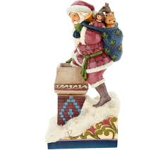jim shore heartwood creek victorian collection santa figurine