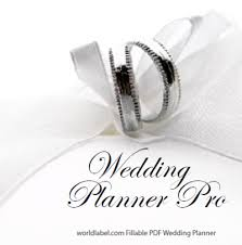our wedding planner diy free wedding planner pro fillable pdf worldlabel
