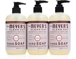 Happy Home Products Boxed Com Mrs Meyer U0027s Liquid Hand Soap 3 X 12 5 Oz Lavender