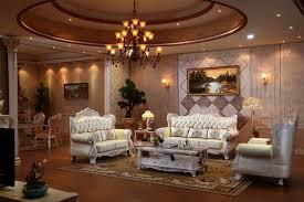 canapé luxe italien de luxe italien chêne en bois massif canapé en cuir ensemble avec