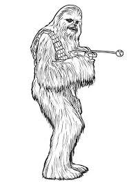 chewbacca star wars coloring download u0026 print