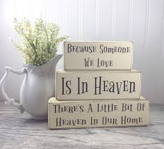 primitive rustic home decor because someone we love is in heaven u2022 apple jack designs