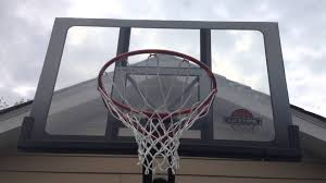 Backyard Basketball Hoops by Furniture Cool Rim Portable Basketball Hoop With Glass Backboard