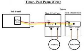 pool pump timer wiring trying to confirm pool pump motor is 120v