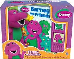 barney friends play sound book cuddly barney editors