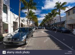 mercedes palm usa florida palm worth avenue and mercedes car stock
