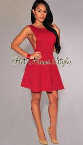 miami hot styles hot miami styles above knee cocktail dress size 4 s tradesy