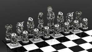 Cool Chess Sets by Got Stark Chess Set By Geospooky On Deviantart
