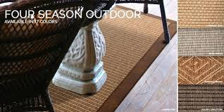 Outdoor Rug Material Extraordinary Outdoor Rug Four Seasons Outdoor
