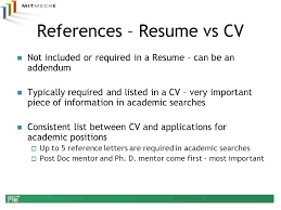Resume Addendum References On A Resume 2017 Free Resume Builder Quotes