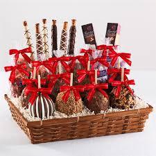 Holiday Food Baskets Classic Caramel Apple Gift Baskets Mrs Prindable U0027s