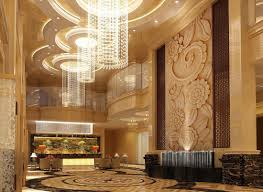 luxury lighting design lobby 3d renderings pinterest