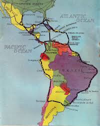 Fracking Usa Map by Map Of Pan America Physical Map Of South America Ezilon Maps