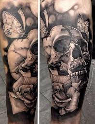 Skull Arm - 40 arm skull tattoos