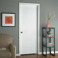 Flush Exterior Door Masonite Entry And Interior Doors Trademark Exteriors