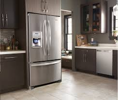 kitchen cabinet countertop depth popular counter depth refrigerator measurements whirlpool