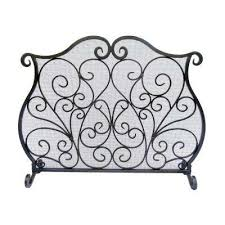 Fireplace Metal Screen by Fireplace Screens Fireplaces The Home Depot