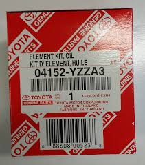 lexus yellow oil light amazon com lexus 04152 yzza3 engine oil filter automotive