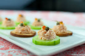 canape mousse keto smoked salmon mousse canapes keto canape