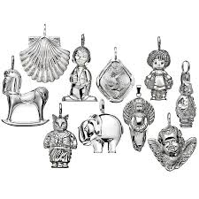 sterling silver christmas decorations u2013 decoration image idea