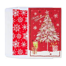 american greetings 40ct merry in wreath boxed