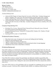 Hr Analyst Resume Sample by Credit Research Analyst Cover Letter