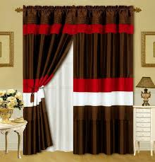 White Black Curtains Red Black And White Kitchen Curtains