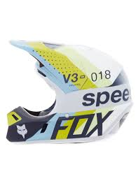 Fox Light Fox Light Grey 2018 V3 Draftr Mx Helmet Fox Freestylextreme