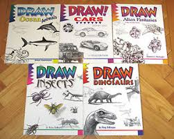 lot 5 draw books doug dubosque drawing cars insects dinosaurs