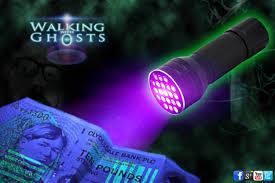 ultraviolet uv 21 led flashlight torch ghost hunt paranormal