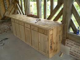 meuble cuisine bois meubles de cuisine en bois hotte escamotable en plan cramique