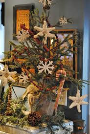 161 best primitive christmas tree ideas images on pinterest