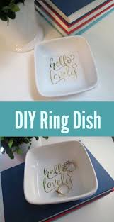 cricut ring dish project and cricut october sales