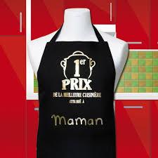 la meilleure cuisine tablier de cuisine maman 1er prix de la meilleure cuisinière noir