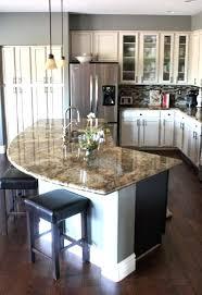 unique kitchen island ideas curved kitchen island creative wood kitchens kitchen design all