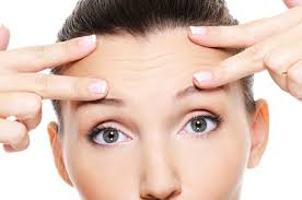 hair to hide forehead wrinkles how to get rid of forehead frown lines livestrong com