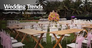 Summer Wedding Decorations 2017 Summer Wedding Decor Trends Theme Designs List For Spring
