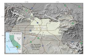 Santa Ana California Map Usgs California Water Science Center Source Distribution And